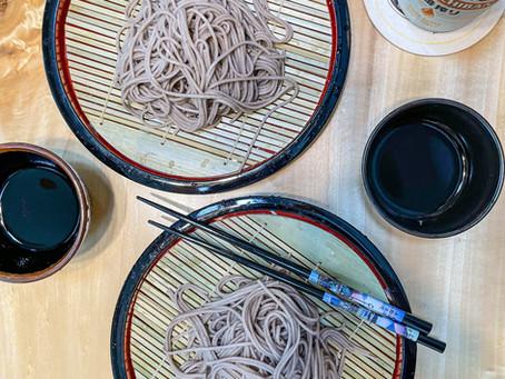 Zaru Soba/Cold Soba Noodles (ざるそば)
