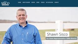 Shawn Sisco Webpage Shot