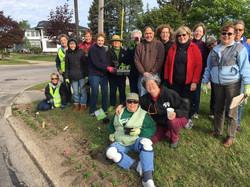 Garden Club planting day 2017