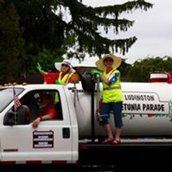 Truck in the July 4th Parade