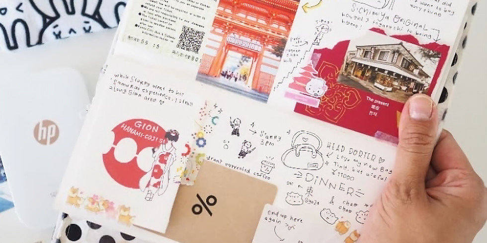 Creative Travel Journalling with Doodlesdo