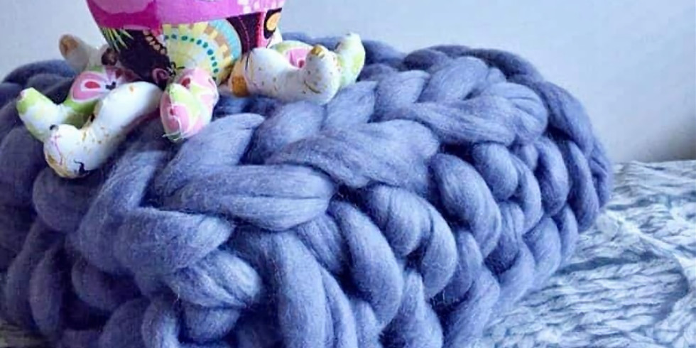 Merino Blanket Arm Knit Workshop