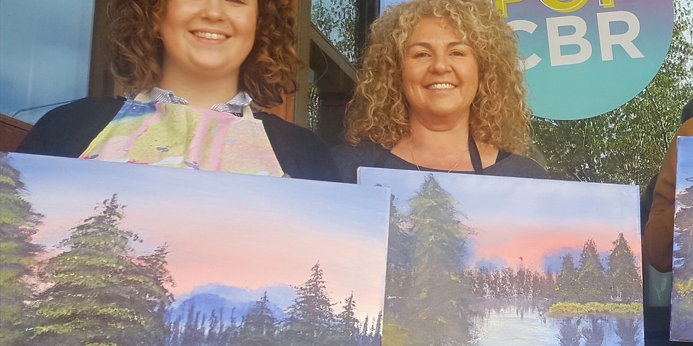 SOLD OUT Boozy BOB ROSS Painting Party