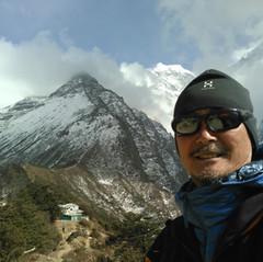 ネパールエベレスト途中