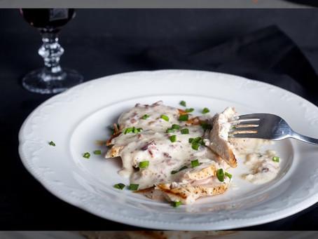 Pollo con Hierbas Aromáticas al vino