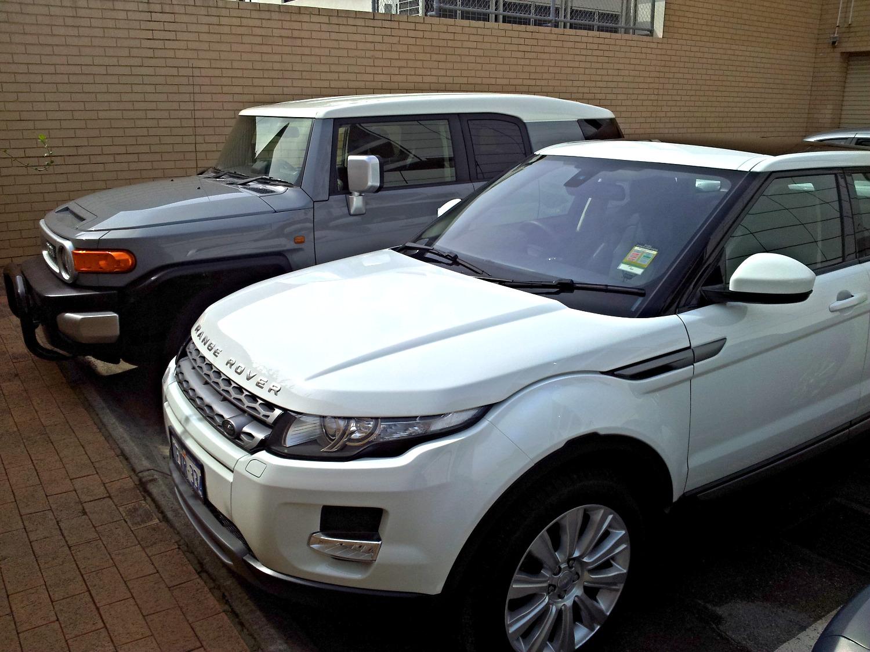 Car Detailing Perth - Range Rover
