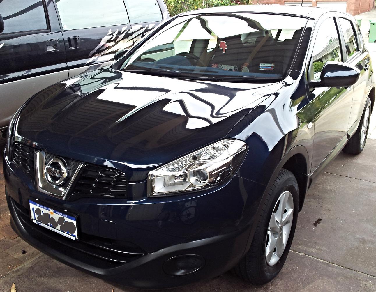 Car Detailing Perth - Nissan Dualis