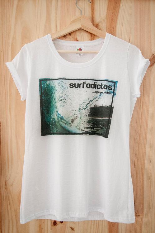 Camiseta chica. Modelo Los Locos.