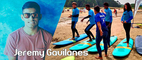 JEREMY GAVILANES, SURFADICTOS