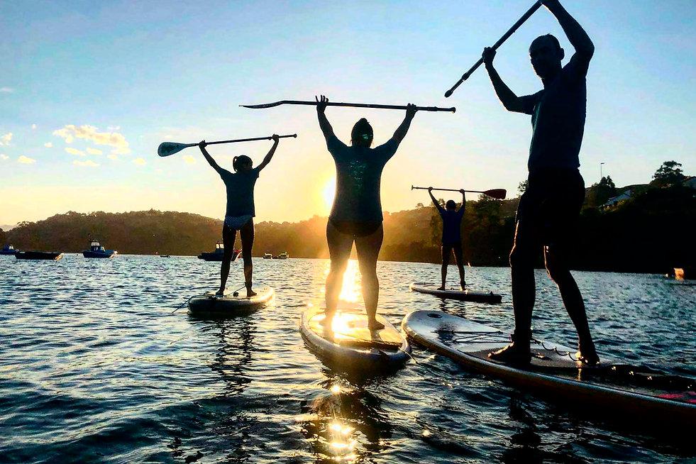 clase de paddle surf san vicente de la barquera