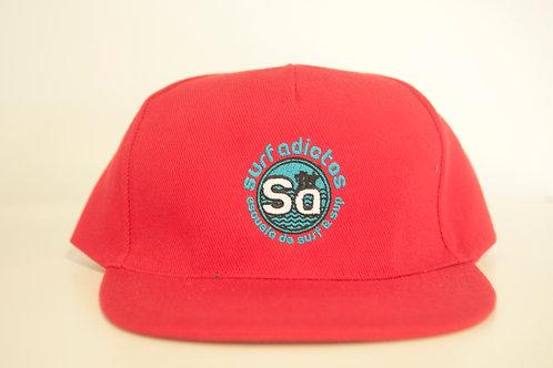Gorra roja SURFADICTOS