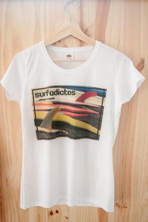 Camiseta de chica modelo Tablas