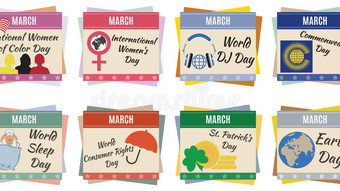 Which obscure March holiday will you be celebrating?