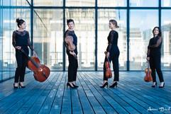 Portrait Photo Quatuor à cordes Paris