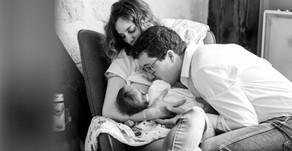 Séance photo grossesse & nouveau-né à Paris
