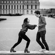 Séance engagement Versailles - Anne BIED - Photographe séance engagement Jardin du chateau de Versailles