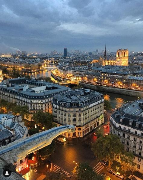 Notre Dame de Paris - Anne BIED - Tour Saint Jacques