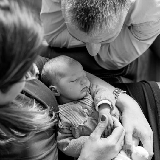 Séance photo naissance - Anne BIED - Photographe naissance Versailles