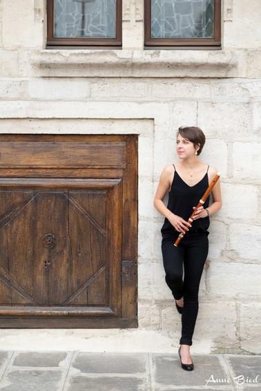 Portrait musicien Paris flute