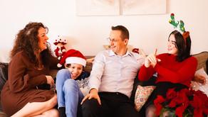 Un reportage de Noël à domicile
