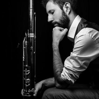 Portrait musicien Paris basson