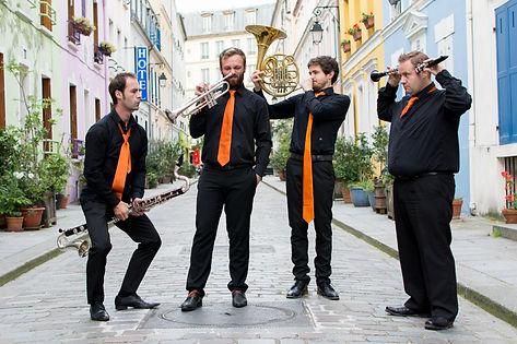Séance photo musiciens - Anne BIED - Quatuor musiciens Paris