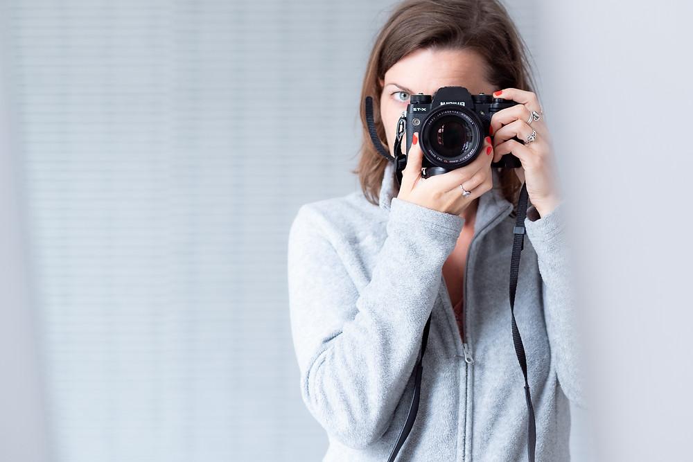 Séance photo portrait femme - Anne BIED - Photographe portrait femme Paris
