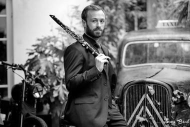 Portrait musicien Paris clarinette