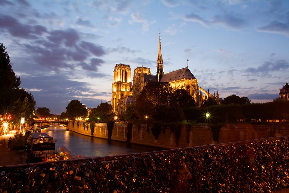 Notre Dame de Paris - Anne BIED - Blue Hour
