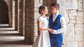 Mariage en Bourgogne à l'Abbaye de la Ferté