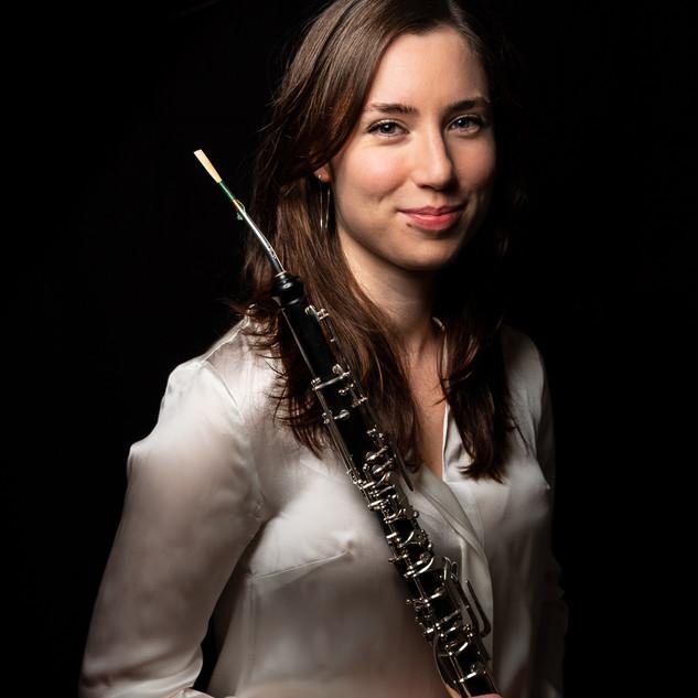 Portrait musicien Paris cor anglais hautbois