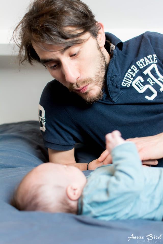 Séance photo nouveau né à domicile - Anne BIED - Photographe nouveau né à domicile Paris