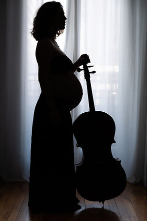 Séance photo grossesse à domicile - Anne BIED - Photographe grossesse Paris