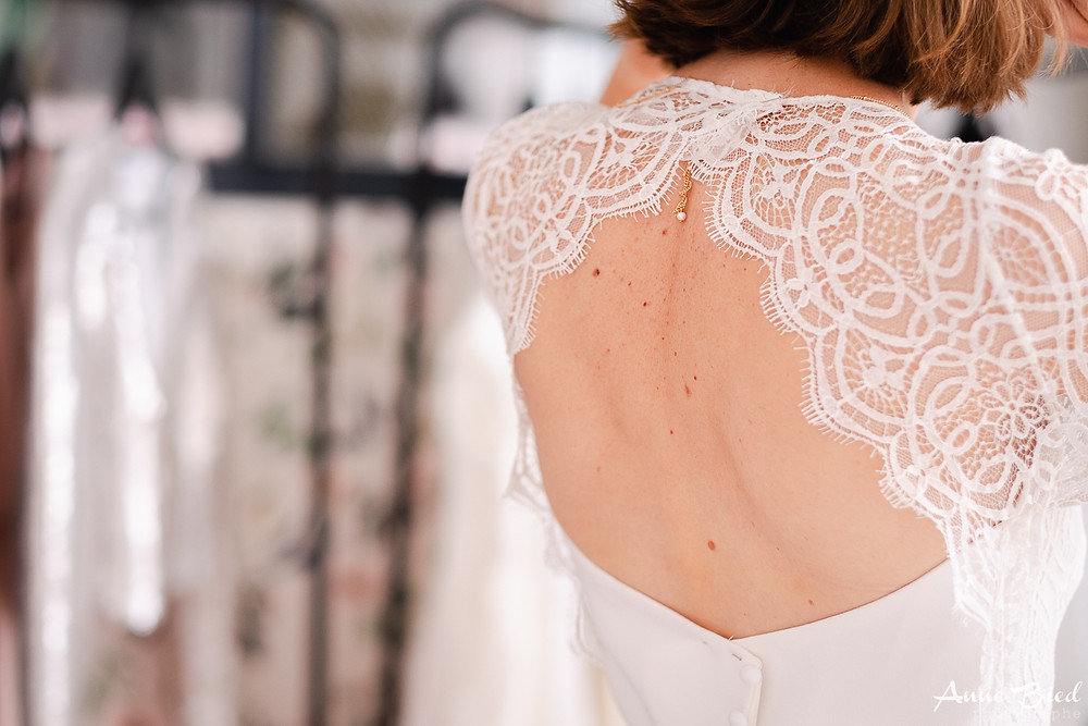 reportage creatrice robe mariage - anne bied - photographe mariage paris - photographe mariage yvelines - photographe mariage essonne