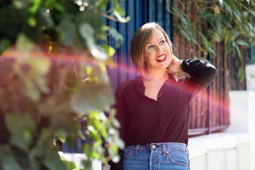 Séance photo portrait musicien Paris - Anne Bied - Photographe portrait de musicien Paris - Photographe lifestyle portait de musicien Paris Montsouris - Photographe portrait de femme Montsouris