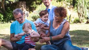 Séance photo famille multi-générations