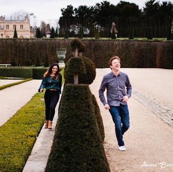 Séance engagement Versailles - Anne BIED - Photographe séance engagement Versailles