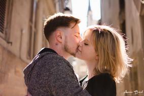 Séance photo couple Paris - Anne Bied - Photographe engagement Paris - Photographe couple Paris - Photographe couple Ile Saint Louis