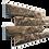 Thumbnail: Фасадная термопанель Дагестанский камень 0,2 Радонит