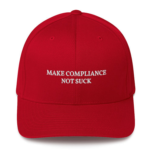 Make Compliance Not Suck – Structured Twill Cap
