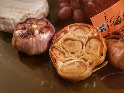 1/2 lb culinary garlic plus 3 large bulbs for roasting