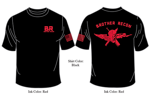 BR JACK 100% Polyester  T-Shirts