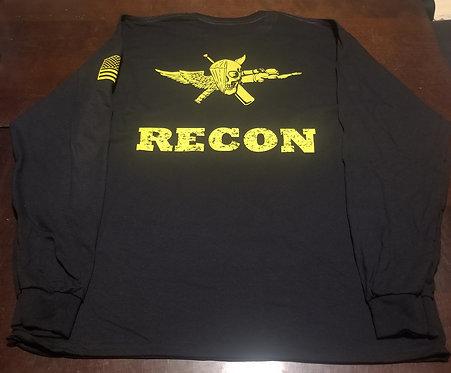RECON Cotton T-Shirt Long Sleeve