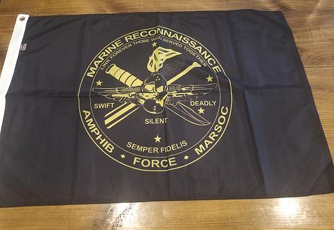 FRA OVAL 2 X 3 FLAG
