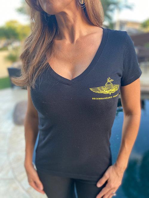 MRF Women's V Neck T-Shirt