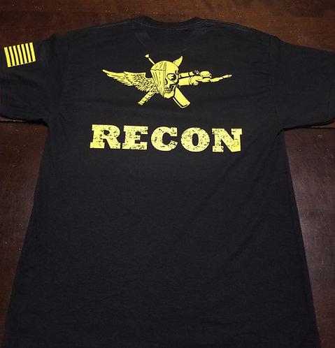 Recon  Cotton T-Shirt