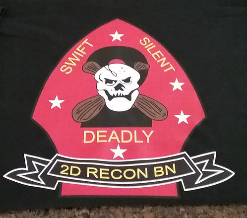 2N RECON BN 100% POLYESTER T-SHIRT