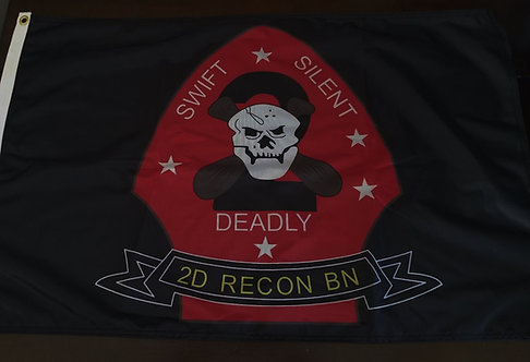 2ND RECON BN      2 X 3 FLAG