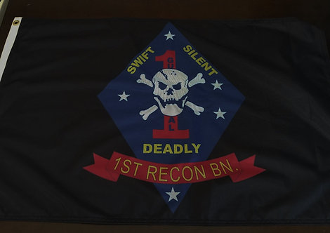 1ST RECON BN      2 X 3 FLAG