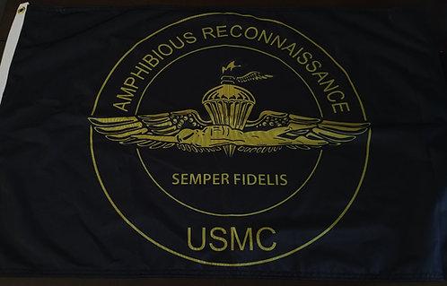 AMPHIBIOUS RECONNAISSANCE 2 X 3 FLAG